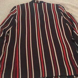 H&M Jackets & Coats - H & M ladies striped blazer. Size 8